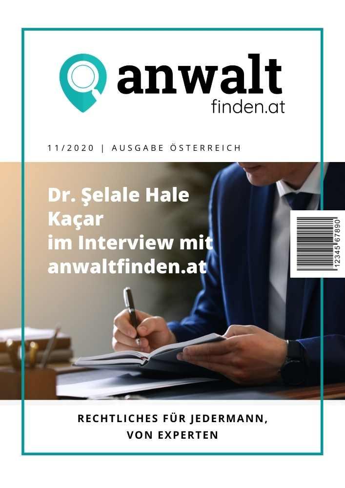 Dr. Ṣelale Hale Kaçar anwaltfinden.at Interview